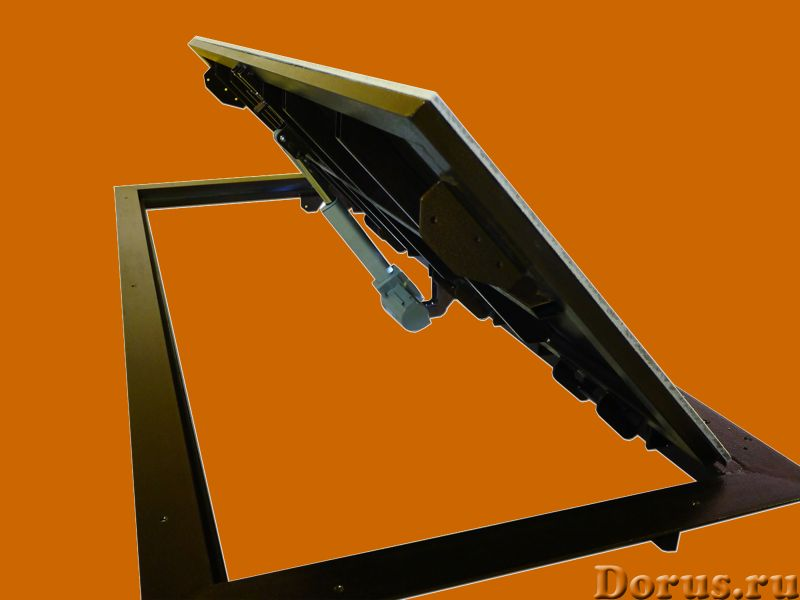 Люк напольный с электроприводом - Материалы для строительства - Предлагаем новую модель напольного л..., фото 1