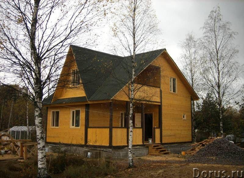 Строительство деревянных и каркасных домов, бань - Строительные услуги - Строительство домов и бань..., фото 2