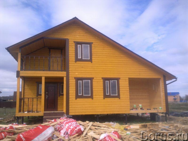 Строительство деревянных и каркасных домов, бань - Строительные услуги - Строительство домов и бань..., фото 4