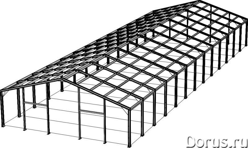 Ангар, склад, фрукто, зерно хранилища - Нежилые помещения, склады - Производим и строим здания под к..., фото 2