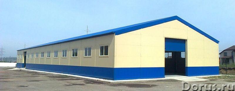 Ангар, склад, фрукто, зерно хранилища - Нежилые помещения, склады - Производим и строим здания под к..., фото 3