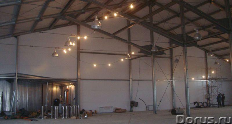 Ангар, склад, фрукто, зерно хранилища - Нежилые помещения, склады - Производим и строим здания под к..., фото 4