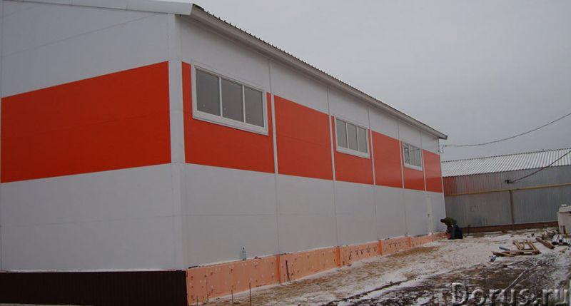 Ангар, склад, фрукто, зерно хранилища - Нежилые помещения, склады - Производим и строим здания под к..., фото 6