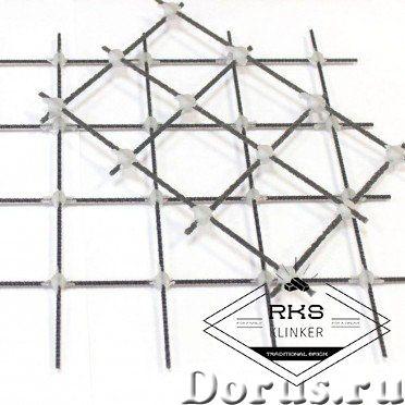 Композитная базальтопластиковая кладочная сетка «ROCKMESH», размер ячейки 50х50 мм - Материалы для с..., фото 4