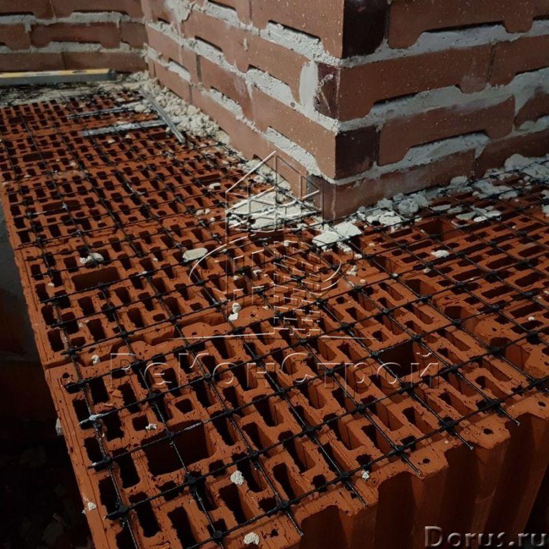 Композитная базальтопластиковая кладочная сетка «ROCKMESH», размер ячейки 50х50 мм - Материалы для с..., фото 9