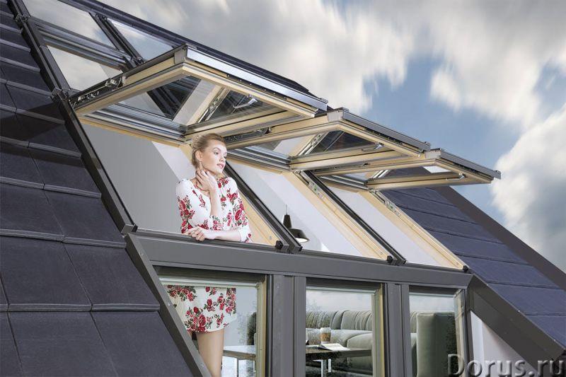 Окно-балкон VELUX CABRIО - Материалы для строительства - Один из трендов последних лет в мансардном..., фото 1