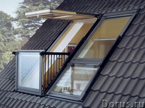 Окно-балкон VELUX CABRIО - Материалы для строительства - Один из трендов последних лет в мансардном..., фото 2