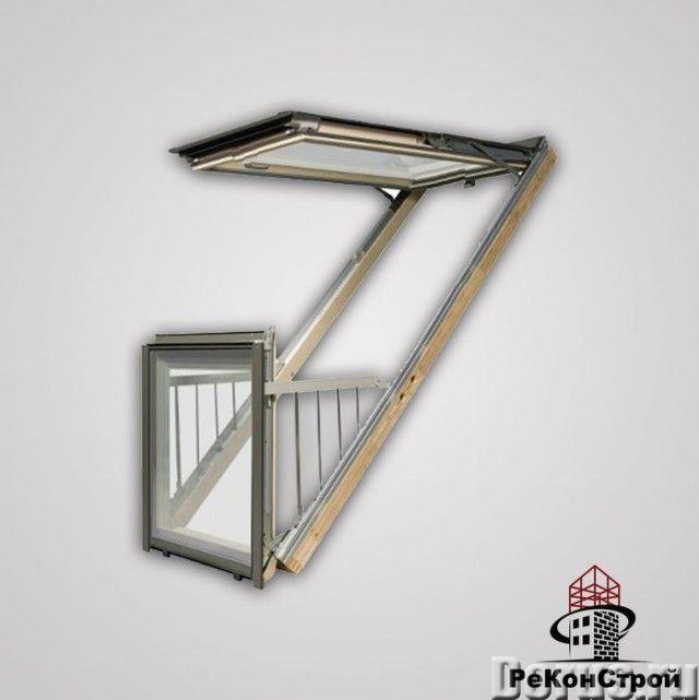 Окно-балкон VELUX CABRIО - Материалы для строительства - Один из трендов последних лет в мансардном..., фото 3
