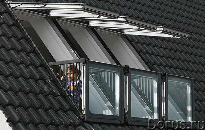 Окно-балкон VELUX CABRIО - Материалы для строительства - Один из трендов последних лет в мансардном..., фото 4